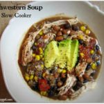 Southwestern Soup in the Slow Cooker