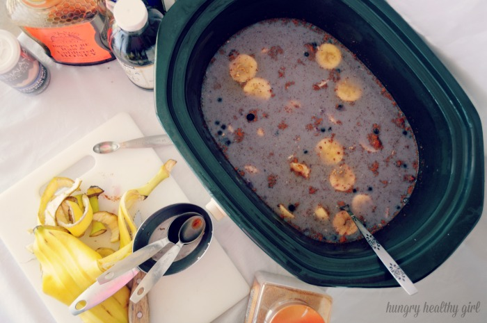 Steel Cut Oatmeal in the Slow Cooker- a great make ahead breakfast to make mornings a cinch!