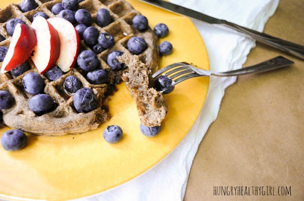 Buckwheat Belgian Waffles- Crispy on the outside, light and airy on the inside, healthy, gluten free, and SCRUMPTIOUS beyond belief!