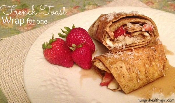 French Toast Wrap