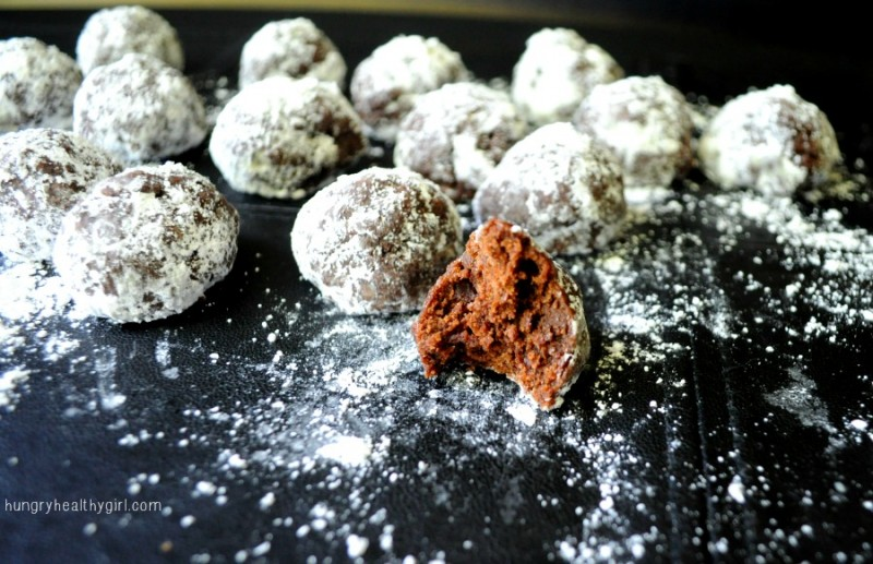 Healthy Crinkle Cookie Truffels
