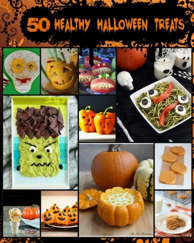 50 Healthy Halloween Treat ideas