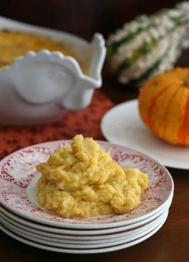 Butternut Squash Cauliflower Casserole