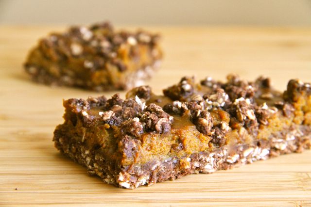 Pumpkin Oat Bar