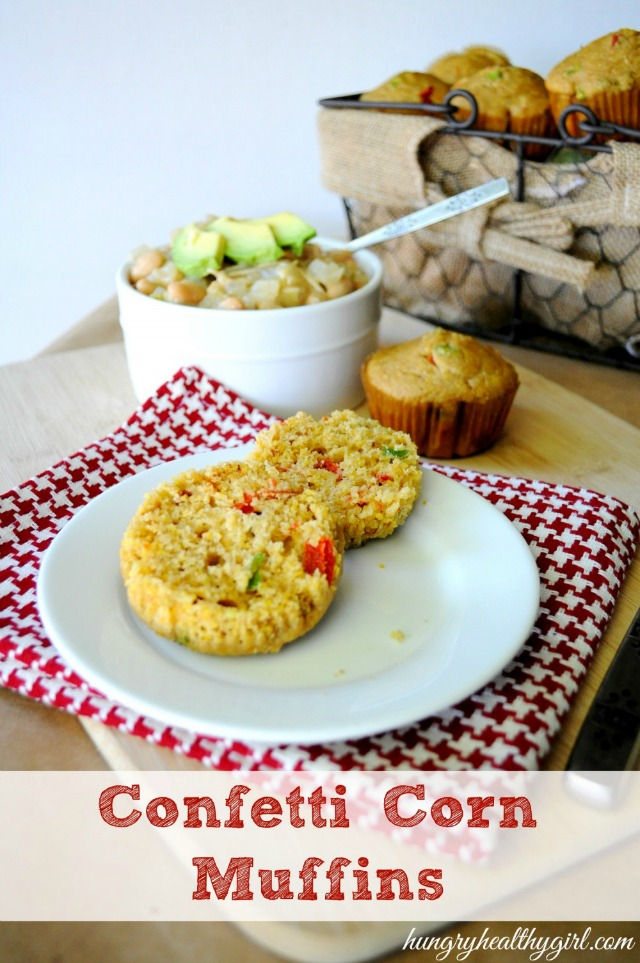 cornbread muffins- tasty muffins that pair perfectly with a warm bowl of chili!