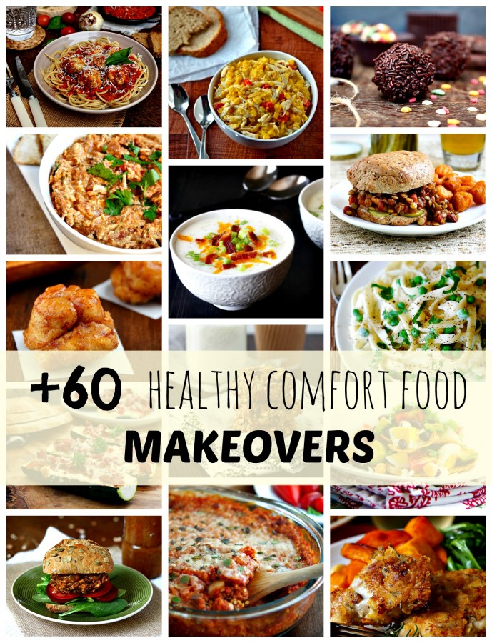 +60 healthy comfort food makeovers