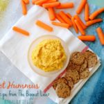 Carrot Hummus and other Game Day Eats