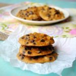 Coconut Flour Chocolate Chip Cookies (updated)