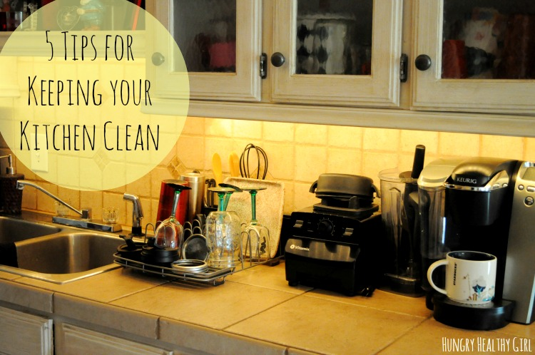 5 Tips for Keeping Your Kitchen Clean