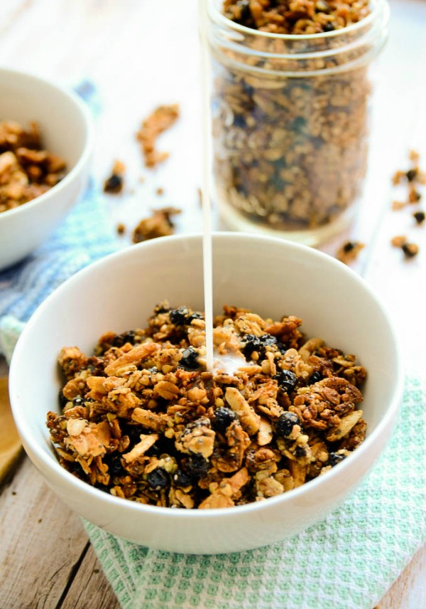 Blueberry Buckwheat Granola