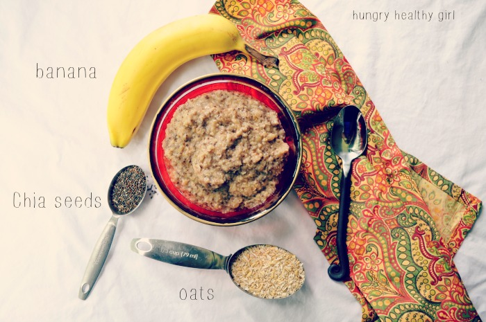 how to cook oatmeal with chia seeds