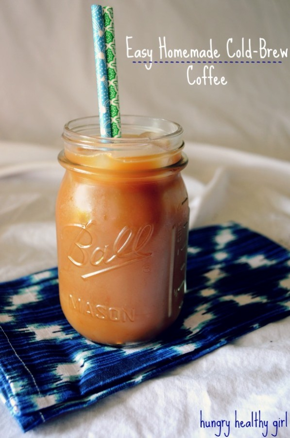 Easy (better than Starbucks) homemade cold-brew coffee
