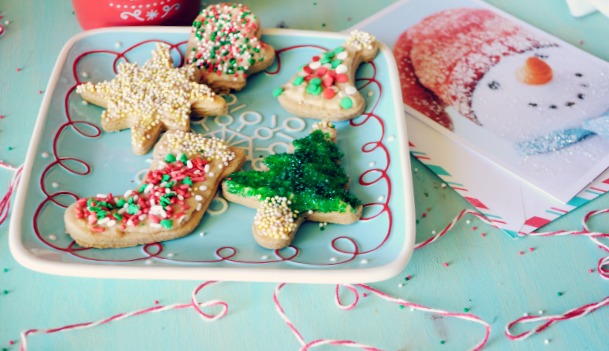 Skinny Cut Out Sugar Cookies- no guilt about having more than one of these delicious little treats!