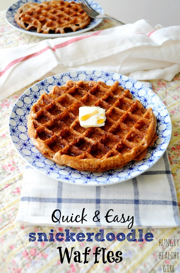 snickerdoodle waffle