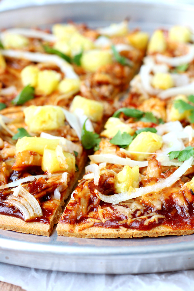 crust pizza bbq chicken pineapple pizza with perfect crust pineapple ...