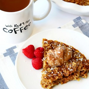 Coffee Baked Oatmeal