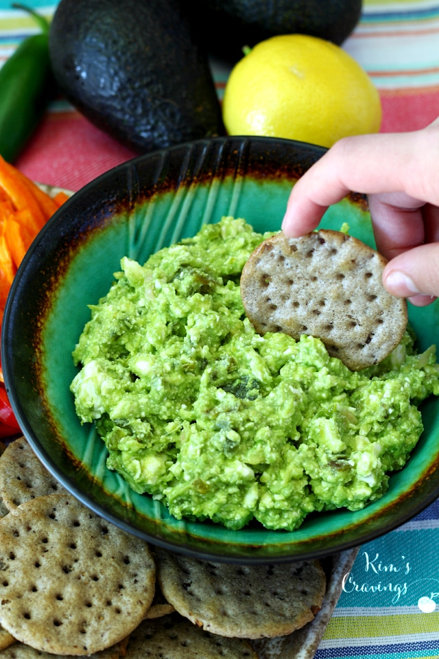 Chunky Avocado And Feta Dip Recipe — Dishmaps