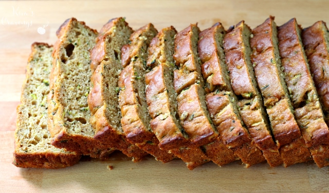 Uber-moist on the inside and slightly crunchy out the outside- this zucchini banana bread with protein is so scrumptious and packs a powerful punch of nutrition!
