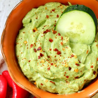 Creamy Avocado Ranch Dip
