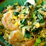 Quick and easy fried rice is perfect for busy weeknights and meets all of requirements for a fast tasty meal that's sure to satisfy the whole family!