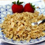 Egg white oat scramble on the countdown to competition meal plan