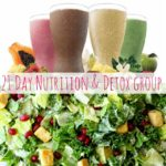 Back to Basics: 21 Day Nutrition and Detox Challenge Group