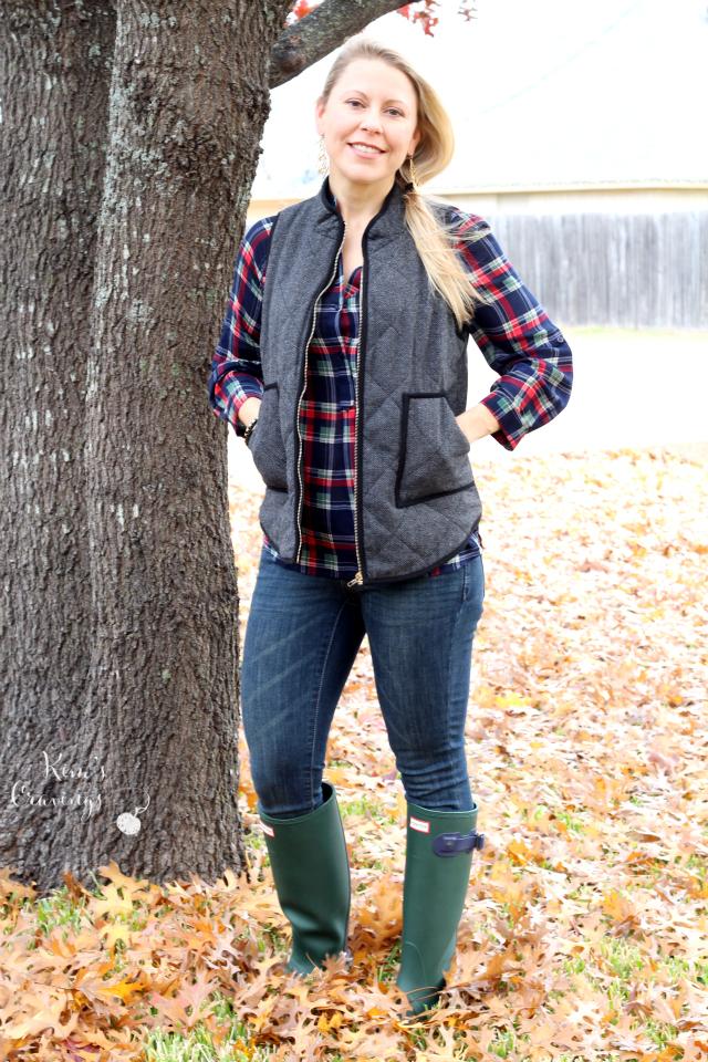Shara Herringbone Vest by 41Hawthorn | xs | $64.00
