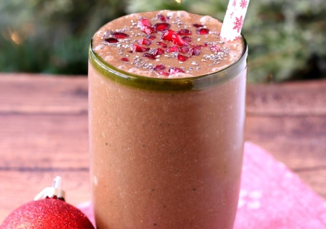 My go-to detox smoothie is veggie-filled, protein-packed and truly the most delicious nutrient-rich smoothie! (vegan, gluten-free and dairy-free)