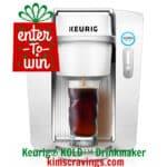 Keurig® KOLD™ Drinkmaker + Giveaway