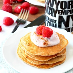 Best Ever Greek Yogurt Pancakes