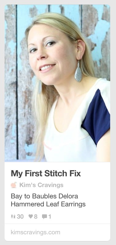 Stitch Fix Pinterest Feature
