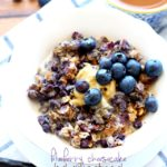 Blueberry Cheesecake Baked Oatmeal