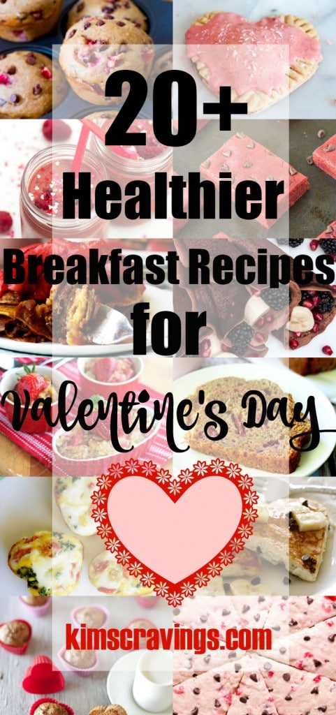 Healthier Breakfast Recipes for Valentine's Day