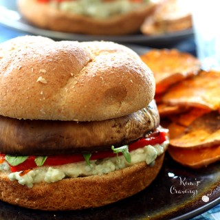 Portobello Cheeseburgers