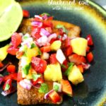 Blackened Cod with Fruit Salsa