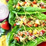Healthy Taco Lettuce Wraps with a Secret Ingredient