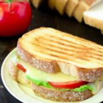 Caprese Grilled Cheese with Pesto