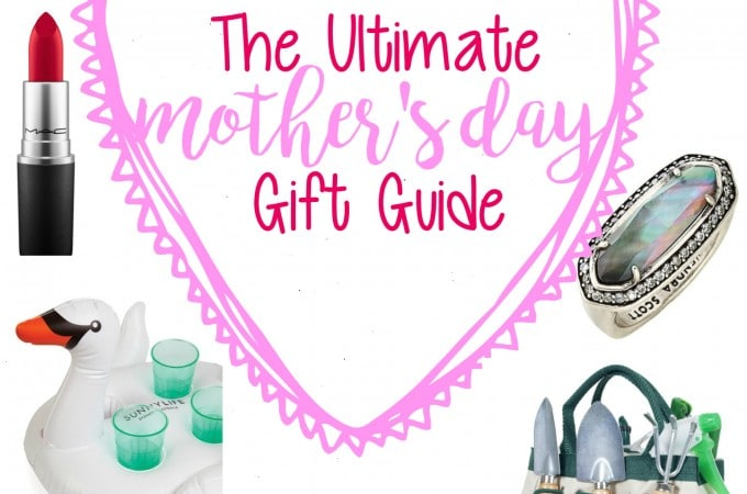I hope you find something for all of your favorite mothers in your life... or yourself. Enjoy this ultimate Mother's Day gift guide!
