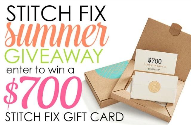June 2016 Stitch Fix 700 Summer Giveaway
