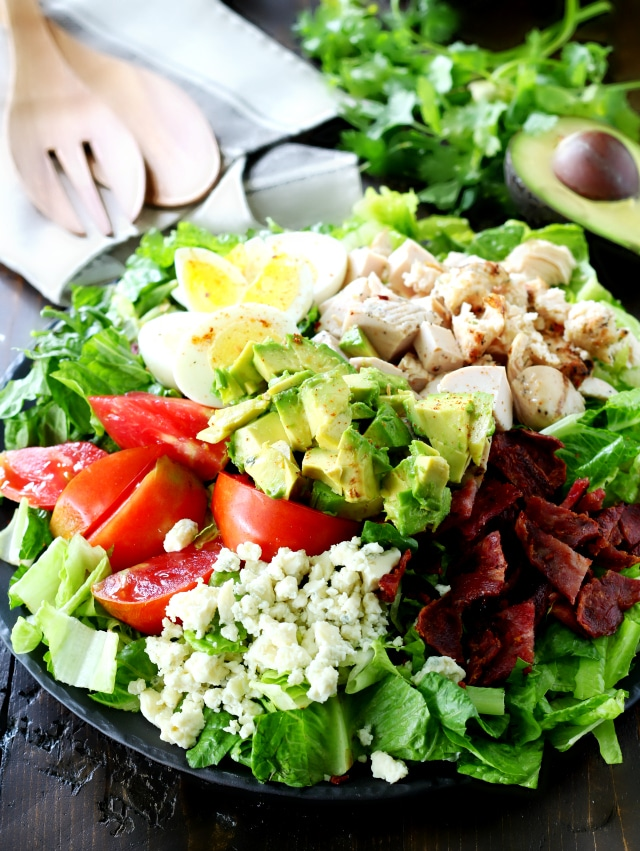 Cobb Salad has all of the goodness you remember from the classic cobb ...