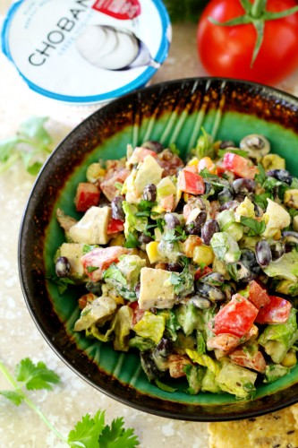 We're shaking things up and joining lean chicken and chopped romaine with zesty Tex-Mex inspired ingredients to create the most incredibly tasty Mexican Chopped Chicken Salad!