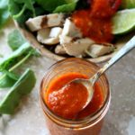 Zesty, flavorful and light, this Roasted Red Pepper Vinaigrette will perk up any salad... and any salad lover!
