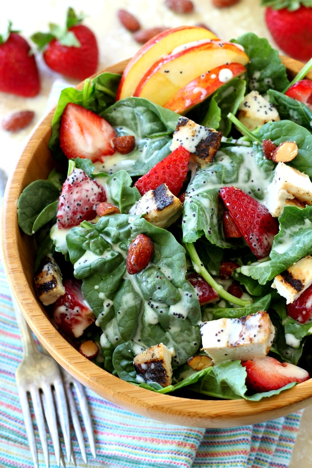 Apple Chicken Salad, filled with plump juicy strawberries, sweet ...