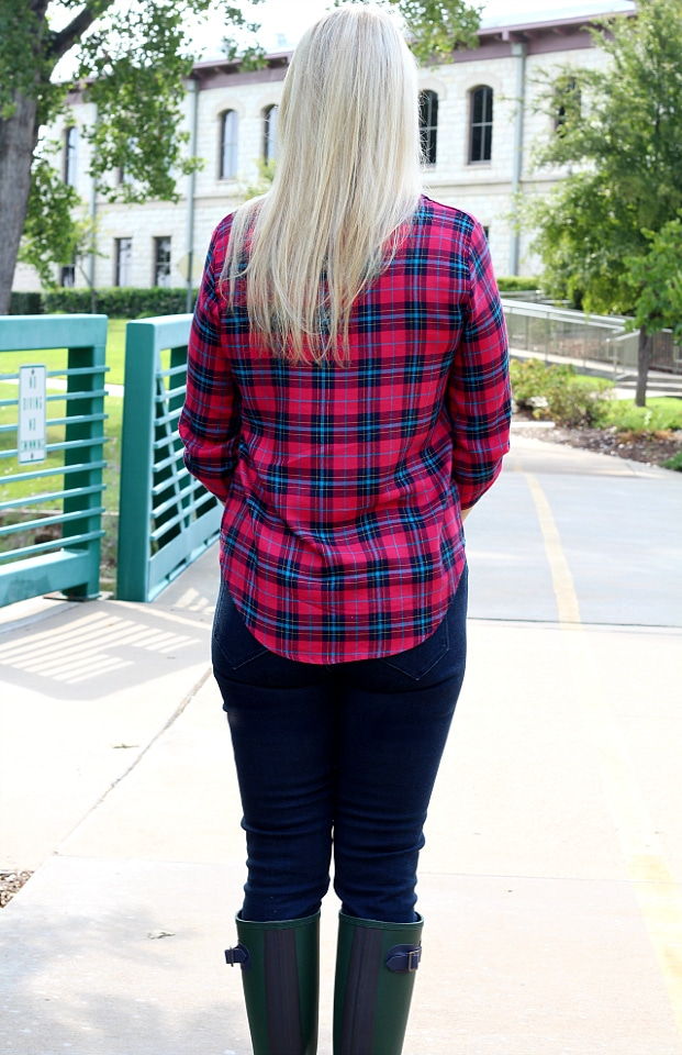 September 2016 Stitch Fix Review- Christopher Split Neck Top by Renee C | S | 54.00