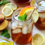 Peach Lemon Iced Tea
