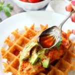 Healthy Chicken and Mashed Potato Waffles