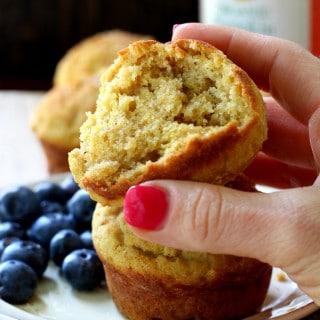 Gluten Free Pumpkin Banana Muffins