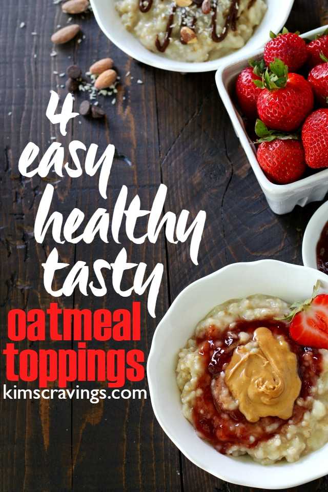Although oatmeal is great on it's own, it really shines and can be even more nutritious with my 4 Easy, Tasty, Healthy Oatmeal Toppings.