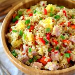 Ham Pineapple Quinoa Salad