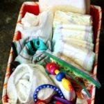 Emergency Diaper Kit for the Car